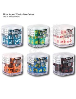 Eldar Aspect Warrior Dice Cubes £6.50 each