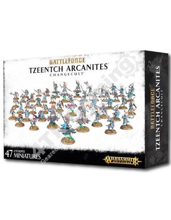 Age Of Sigmar Battleforce: Tzeentch Arcanites Changecult
