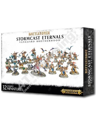 Age Of Sigmar Battleforce: Stormcast Eternals Vanguard Brotherhood