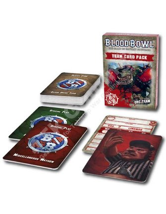 Blood Bowl Blood Bowl: Orc Team Card Pack
