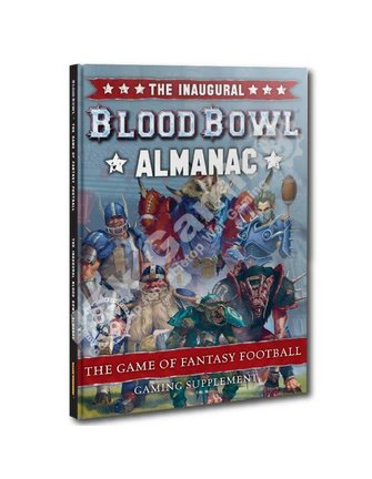 Blood Bowl The Inaugural Blood Bowl Almanac
