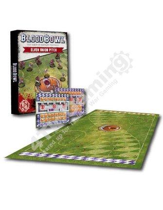 Blood Bowl Blood Bowl: Elf Pitch & Dugouts