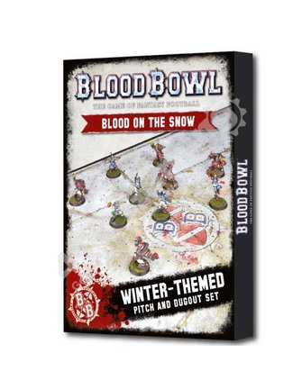Blood Bowl Blood Bowl:Blood On The Snow (W/Dugouts)