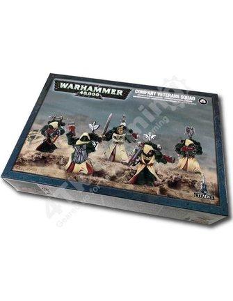 Games Workshop Dark Angels Company Veterans Squad