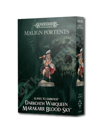 Age Of Sigmar Darkoath Warqueen Marakarr Blood-Sky