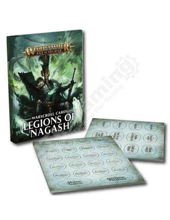 Age Of Sigmar Warscroll Cards: Legions Of Nagash
