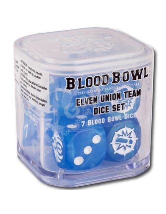 Blood Bowl Elven Union Dice Set