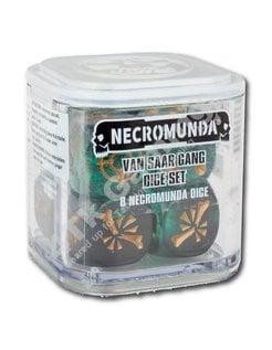 #Necromunda Van Saar Gang Dice Set