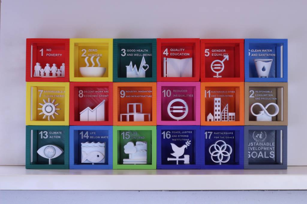 3D Exponential SDG Cube