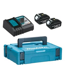 Makita Makita - petit kit de batterie Power (2 x 18V / 3Ah)