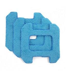 Hobot Lingettes de Remplacement pour Hobot 268 bleu (3 unités)