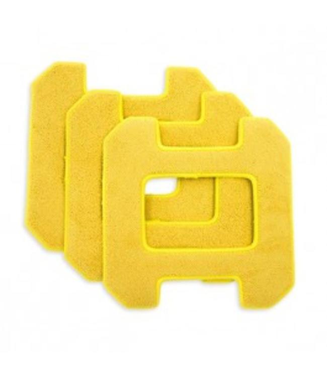 Hobot Lingettes de Remplacement pour Hobot 268 jaune (3 unités)