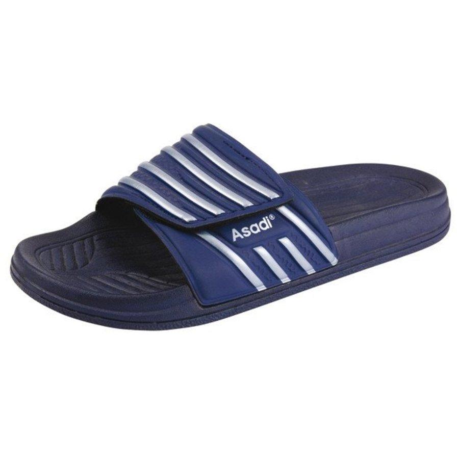 6365 badslipper pvc blauw