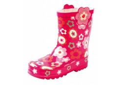 Gevavi Boots Girls meisjeslaars roze met bloem