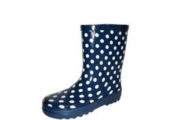 Gevavi Boots Stip kinderlaars rubber blauw