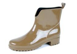 Gevavi Boots 400W dames enkellaars pvc beige