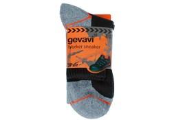 Gevavi Workwear GW85 Zwart 3 Paar/Bundel Sneaker Sokken