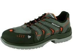 Dunlop Shoes Racer Grijs Zwart Lage Veiligheidsschoenen S1P Heren