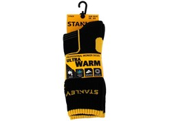 Stanley ST06 Ultra Warm Zwart 2 Paar per Bundel Sokken