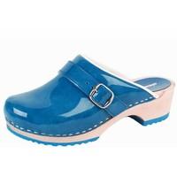 6038 Blauw Clogs Dames
