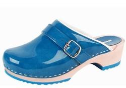 BigHorn 6038 Blauw Clogs Dames