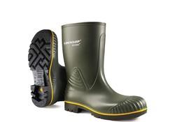 Dunlop B440631.AF Acifort Groen Kuitlaarzen S3 Heren