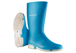 Dunlop K255111 Licht Blauw Sportlaarzen PVC Dames