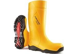 Dunlop C762241 Purofort+ Geel Knielaarzen S5 Uniseks