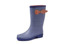 Gevavi Boots Abby Blauw Regenlaarzen Rubber Dames