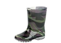 Gevavi Boots Jungle Groen Regenlaarzen LED PVC Kinderen