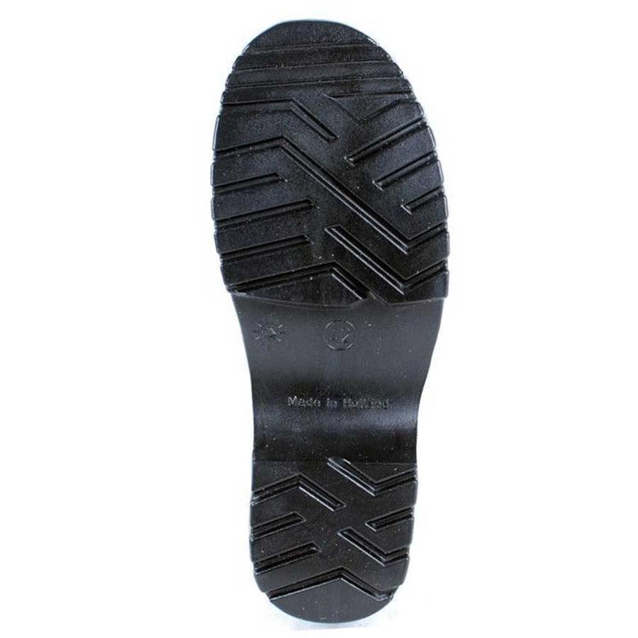 Fullfit Zwart Gesloten Flexibele Schoenklompen PU Heren