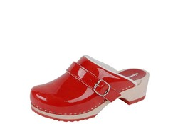 BigHorn 6038 Rood Clogs Dames