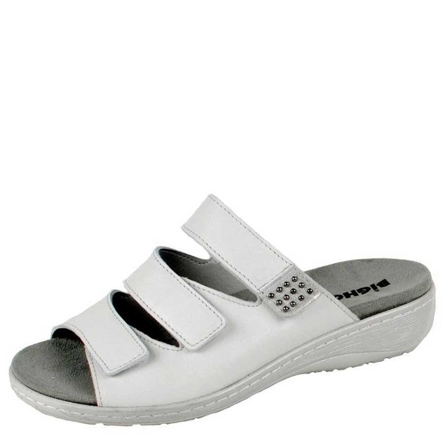 6047 Wit Gezondheids Slippers Dames
