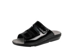 BigHorn 3001 Zwart Slippers Dames
