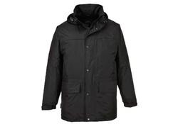 Gevavi S523 Fleece Gevoerd Zwart Jas Heren