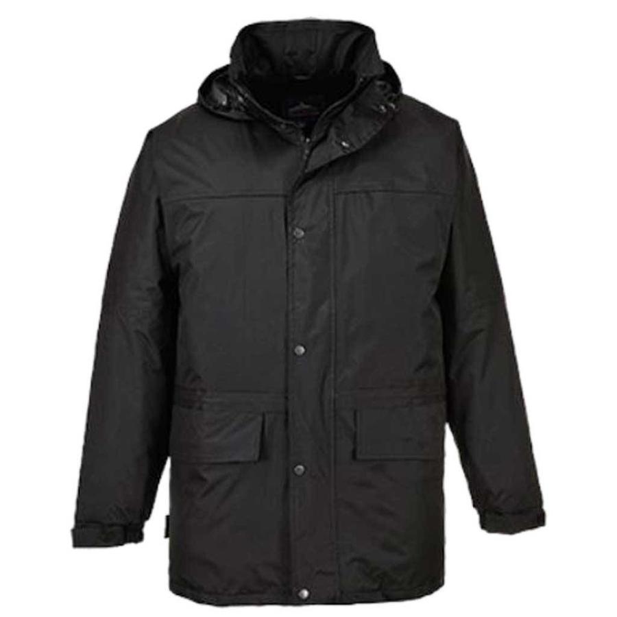 S523 Fleece Gevoerd Zwart Jas Heren