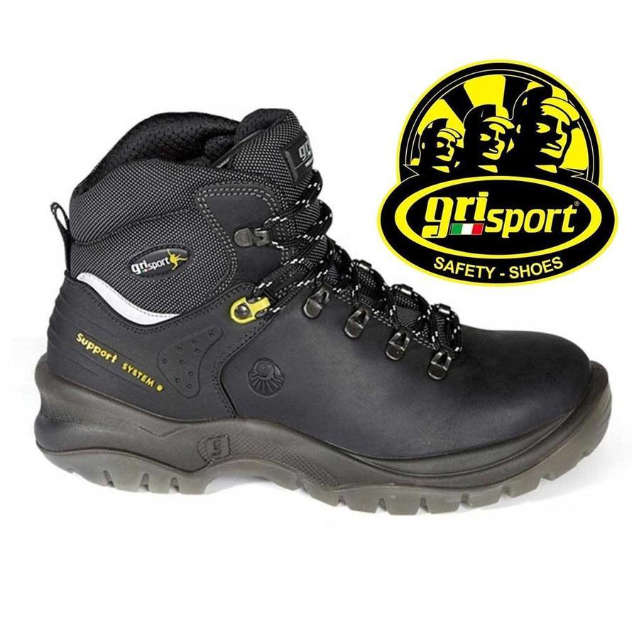 Grisport Safety 70072 Zwart S2 Werkschoenen Heren