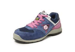 Dunlop Shoes Lady Arrow S3 Blauw Lage Veiligheidssneaker Dames