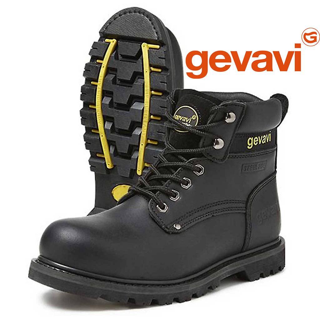 Cuir Véritable De Chaussures De Sécurité Avec Bouchon En Acier - - 46 Eu YTKVz