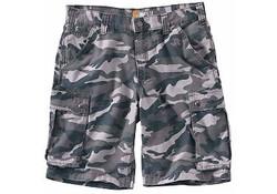 Carhartt Rugged Cargo Grey Camo Shorts Heren
