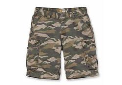 Carhartt Rugged Cargo Khaki Camo Shorts Heren