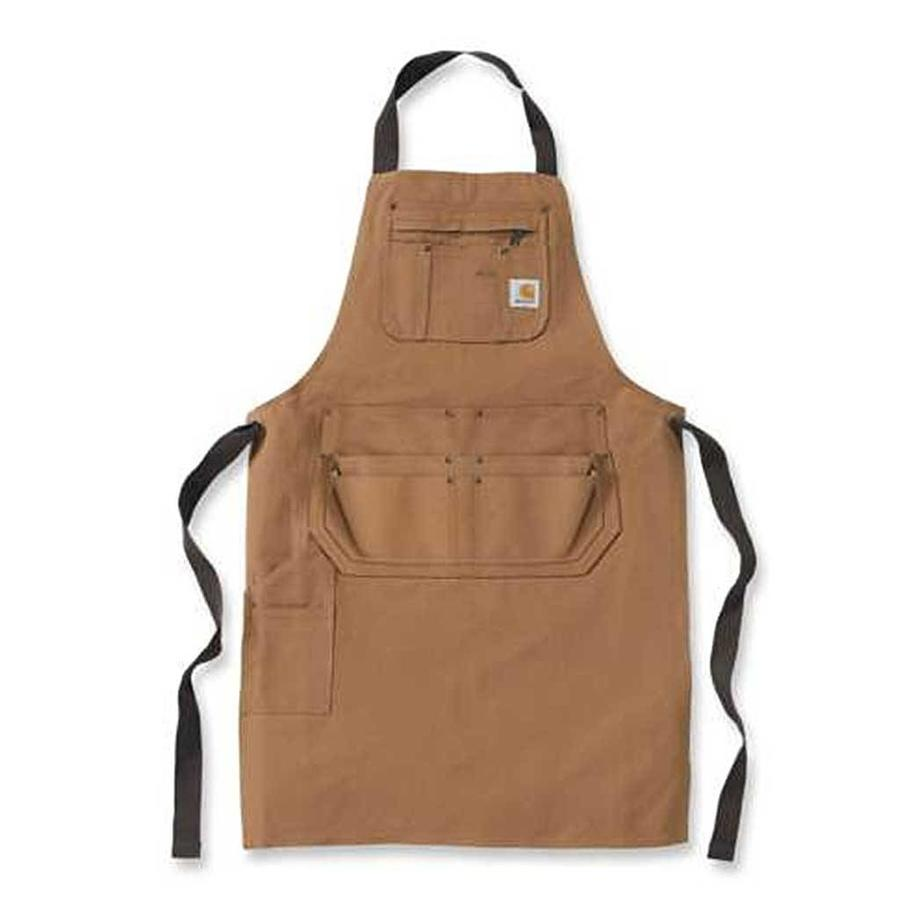 Duck Apron Carhartt Brown Schort