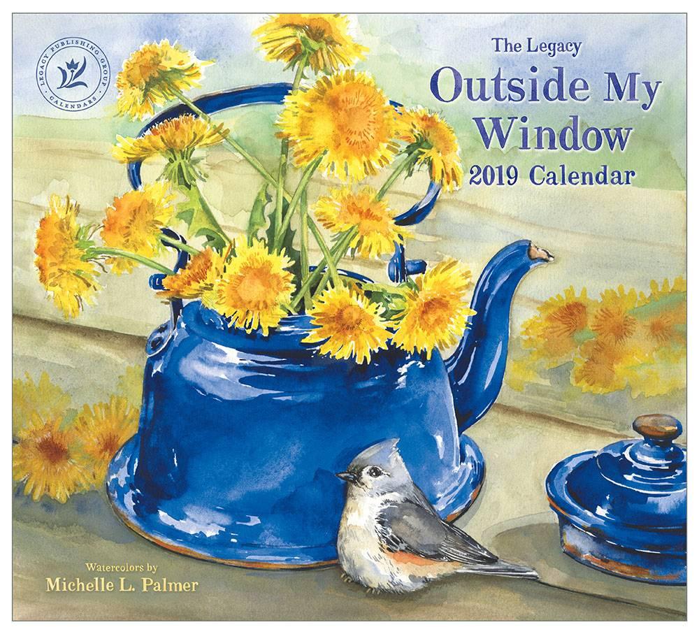 LEGACY OUTSIDE MY WINDOW 2019 Große Kalender | shoplegacy