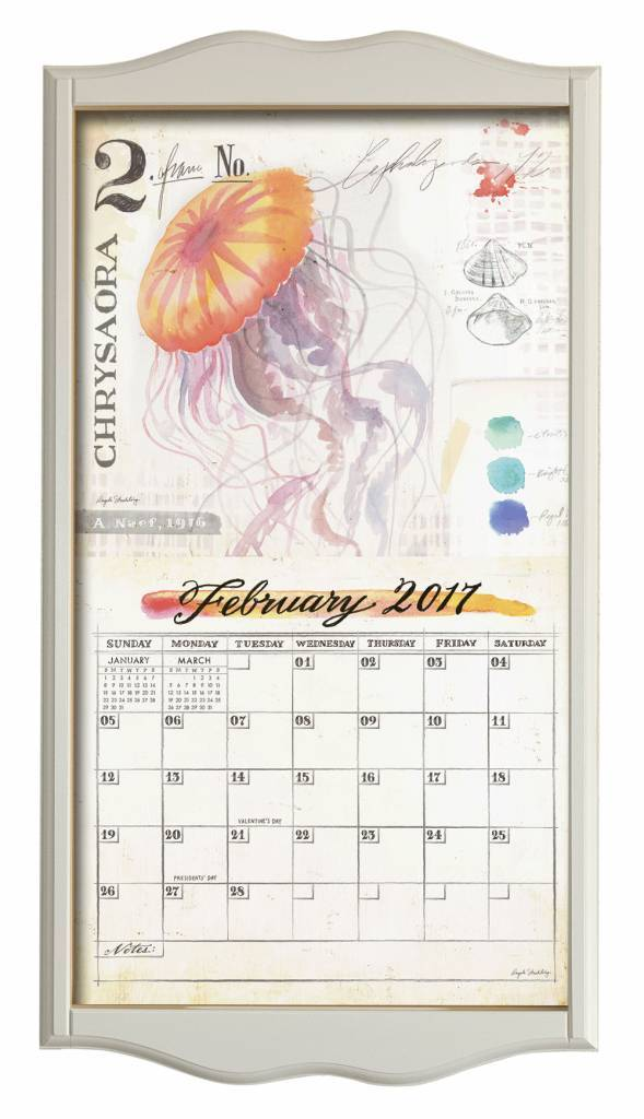 Kalenderrahmen classic weiß | shoplegacy