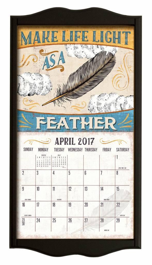 Kalenderrahmen Classic Schwartz | shoplegacy