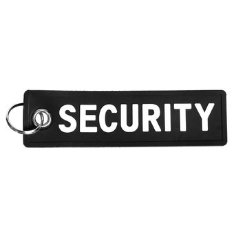 Sleutelhanger SECURITY PVC