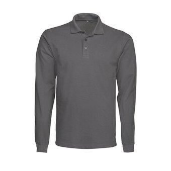 PRINTER Polo shirt lange mouwen