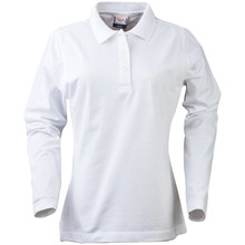 PRINTER Polo shirt lange mouwen dames
