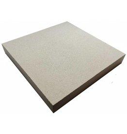 Pizzasteen 30x30x5cm  1200c