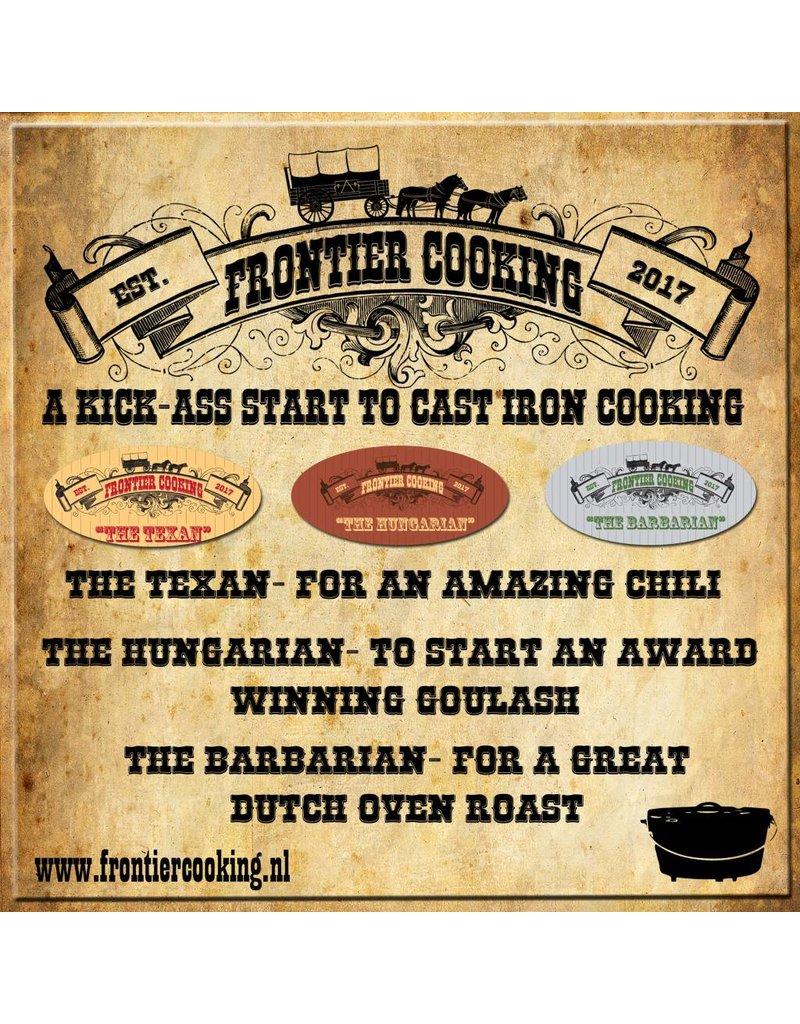 Frontier Cooking Frontier Cooking The Hungarian+GRATIS Fire Starter